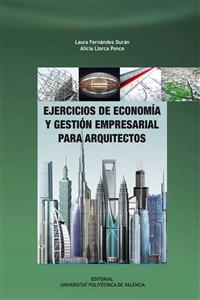 cubierta de Ejercicios de economía y gestión empresarial para arquitectos