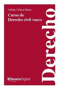 cubierta de Curso de Derecho civil vasco