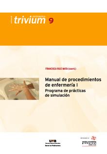 portada de Manual de procedimientos de enfermería. Programa de prácticas de simulación I