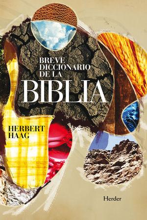 "Portada del libro ""Breve diccionario de la Biblia"", de Herbert Haag."