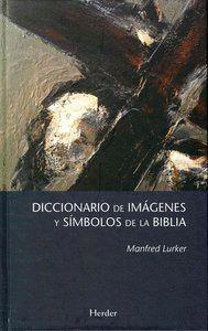 """Portada del libro """"Diccionario de imágenes y símbolos de la Biblia""""."""