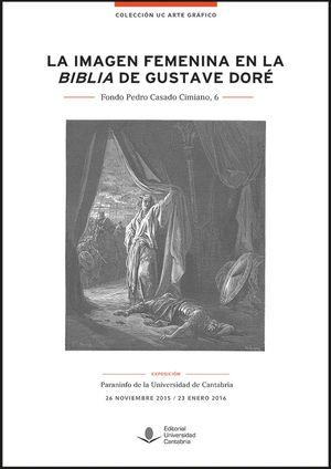 """Portada del libro """"La imagen femenina en la Biblia de Gustave Doré"""", publicado por la Universidad de Cantabria."""