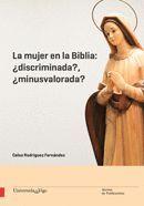 """Portada del libro """"La mujer en la Biblia: ¿discriminada? ¿minusvalorada?"""", publicado por la Universidade de Vigo."""