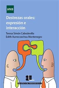 """Portada del libro """"Destrezas orales: expresión e interacción en ELE"""", publicado por la UNED,"""