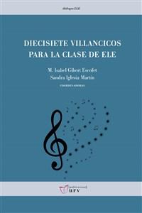"""Portada del libro """"Diecisiete villancicos para la clase de ELE"""", publicado por la Universitat Rovira i Virgili."""