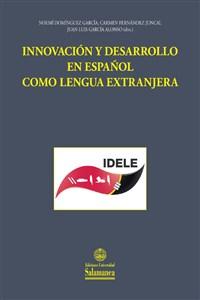"""Portada del libro """"Innovación y desarrollo en español como lengua extranjera"""", publicado por la Universidad de salamanca."""