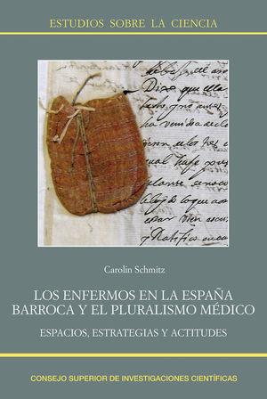 """Portada del libro """"Los enfermos en la España barroca y el pluralismo médico"""", publicado por el CSIC."""