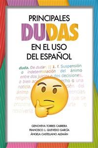 """Portada del libro """"Principales dudas en el uso del español"""", publicado por la Universidad de Las Palmas de Gran Canaria."""