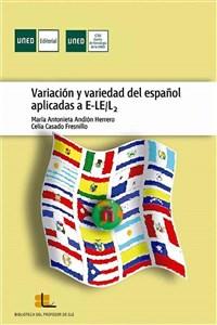 """Portada del libro """"Variación y variedad del español aplicadas a E-LE/L2"""", publicado por la UNED."""