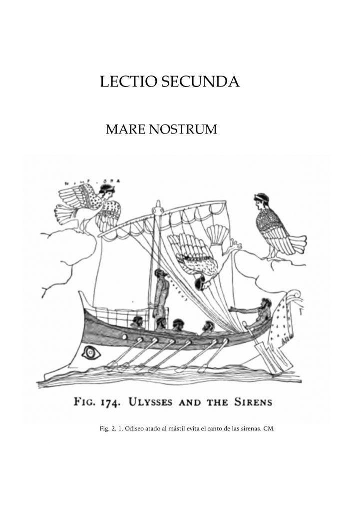 """Interior del libro """"Lectiones Latinae"""", publicado por la Universidad de Sevilla."""