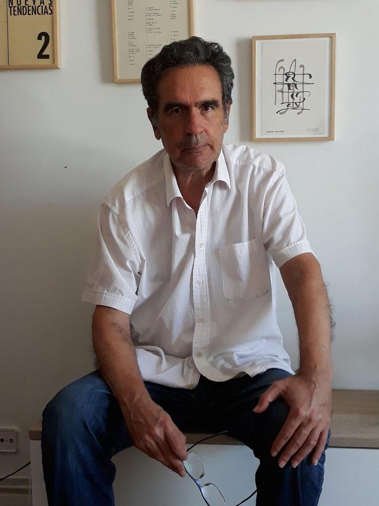 José Antonio Sarmiento, editor de la colección Taller de Ediciones, publicada por la Universidad de Castilla-La Mancha.