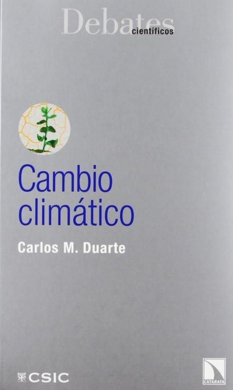 """Portada del libro """"Cambio climático"""" de la editorial CSIC."""