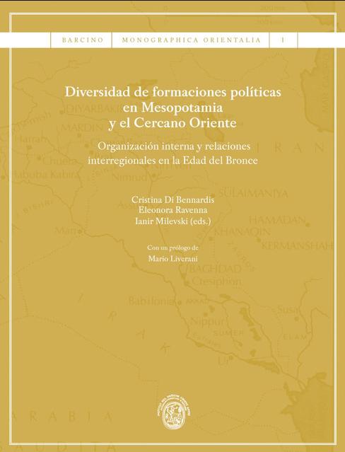 """Portada del libro """"Diversidad de formaciones políticas en Mesopotamia y el Cercano Oriente"""""""