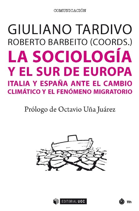 """Portada del libro """"La sociología y el sur de Europa"""", de la Universidad Oberta de Catalunya."""