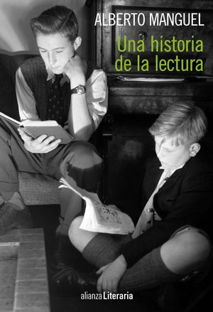 "Portada del libro ""Una historia de la lectura"""