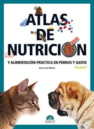 """Portada del libro """"Atlas de nutrición y alimentación práctica en perros y gatos""""."""