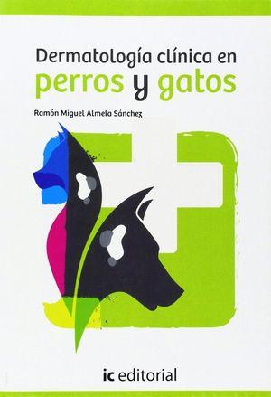 """Portada del libro """"Dermatología clínica en perros y gatos""""."""