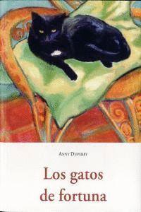 """Portada del libro """"Gatos de fortuna""""."""