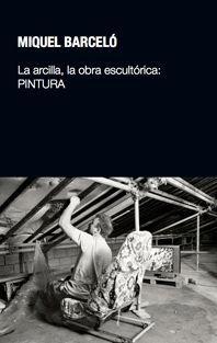 """Portada del libro """"La arcilla, la obra escultórica: pintura"""", publicado por la Universidad Pública de Navarra."""