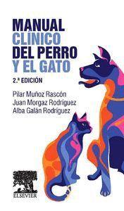 """Portada del libro """"Manual clínico del perro y el gato""""."""