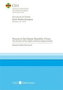Las mujeres en Irán portada