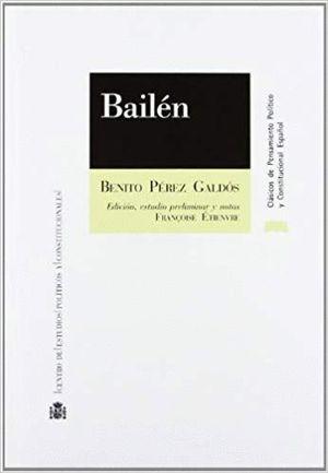 Portada de Bailén de Benito Pérez Galdós
