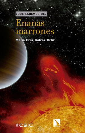 """Portada del libro """"Enanas marrones"""", publicado por Editorial CSIC y Catarata."""