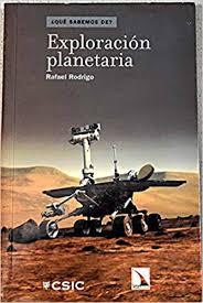 """Portada del libro """"Exploración planetaria"""", publicado por Editorial CSIC y Catarata."""