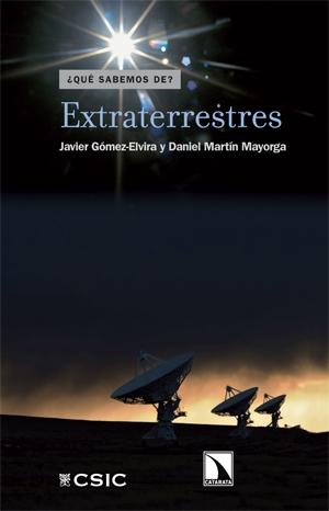 """Portada del libro """"Extraterrestres"""", publicado por Editorial CSIC y Catarata."""