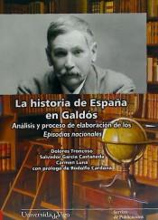 Portada de la historia de España en Galdós