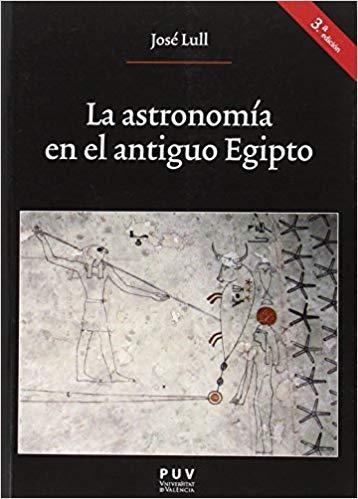 """Portada del libro """"La astronomía en el antiguo Egipto"""", publicado por la Universitat de valencia."""