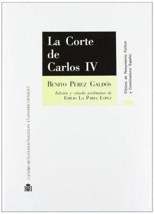 Portada de La Corte de Carlos IV de Benito Pérez Galdós
