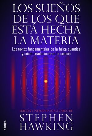 """Portada del libro """"Los sueños de los que está hecha la materia""""."""