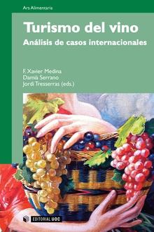 Portada del libro Turismo del vino. Análisis de casos internacionales, de Editorial UOC.