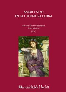 Portada del libro Amor y sexo en la literatura latina, publicado por la Universidad de Huelva.