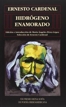 Portada del libro Hidrogeno enamorado, publicado por la Universidad de Salamanca.