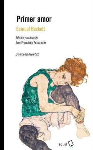 Portada del libro Primer amor, publicado por la Universidad de Almería.