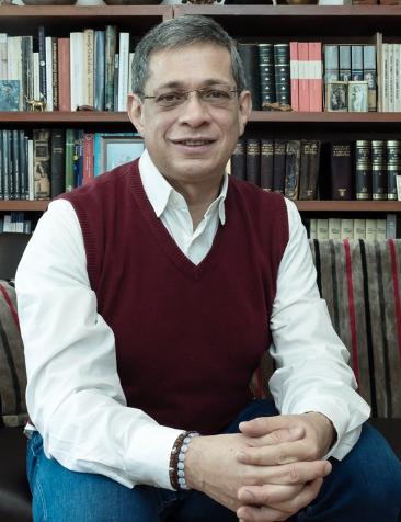 Juan Felipe Córdoba-Restrepo, director de la Editorial de la Universidad de Rosario y vicepresidente de la Asociación de Editoriales Universitarias de América Latina y el Caribe (EULAC).