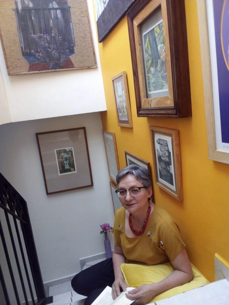 Martha Esparza, Jefa del Departamento Editorial de la Dirección General de Difusión de la Universidad Autónoma de Aguascalientes, y coordinadora nacional de la Red de Editoriales Universitarias y Académicas de México ALTEXTO.
