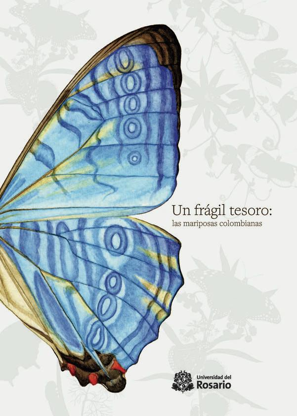 Portada del libro Un frágil tesoro: las mariposas colombianas