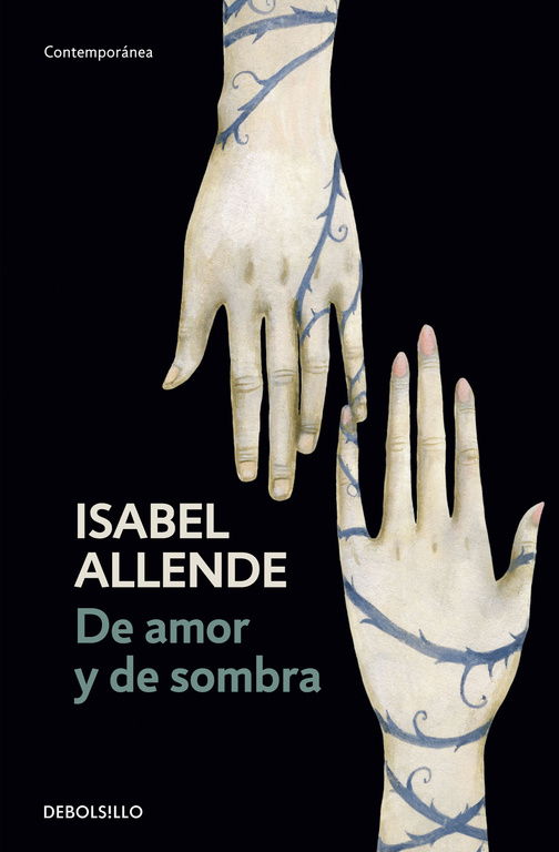 Portada del libro De amor y de sombra, de Isabel Allende.