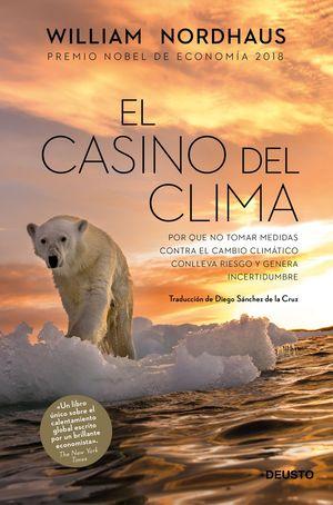 "Portada del libro ""El casino del clima"""