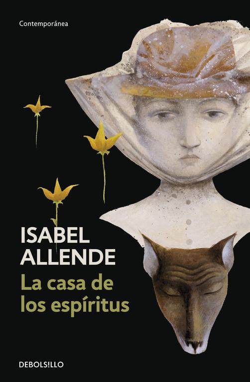 Portada del libro La casa de los espíritus, de Isabel Allende.