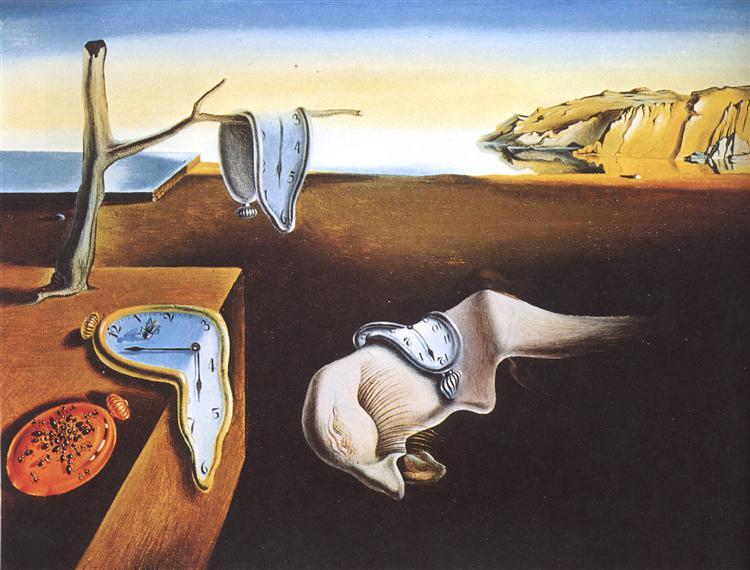 La persistencia de la memoria (Salvador Dalí, 1931)