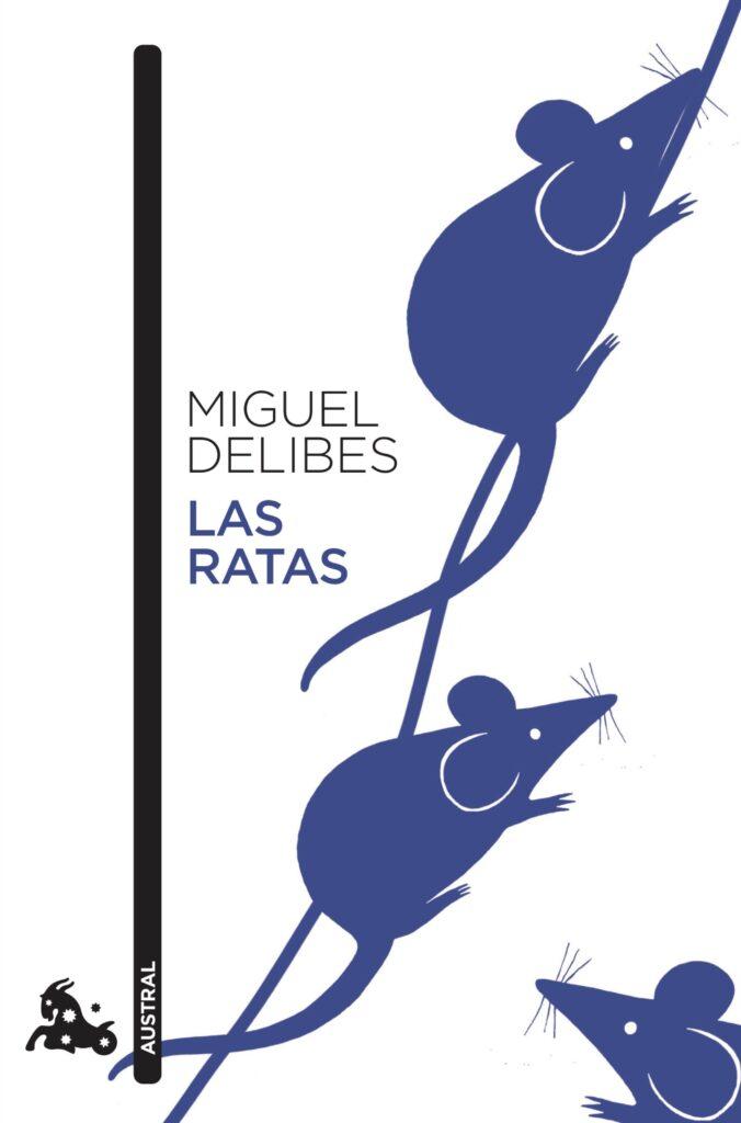 Portada del libro Las ratas, de Miguel Delibes