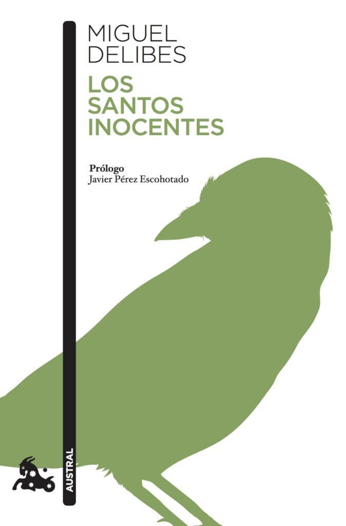 Portada del libro Los santos inocentes (1981), de Miguel Delibes