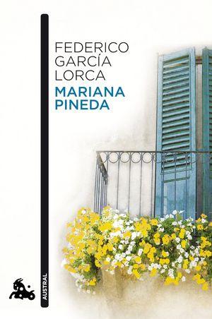 Portada del libro María Pineda, de Lorca.