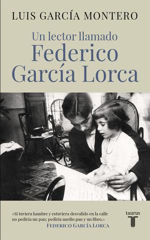 Portada del libro Un lector llamado Federico García Lorca.