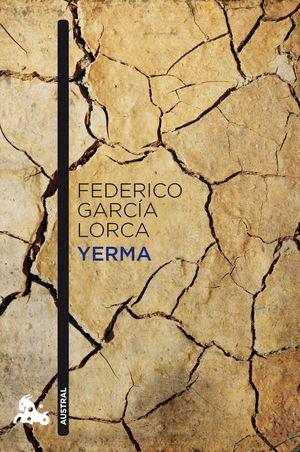 Portada del libro Yerma, de Lorca.