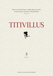 Portada de la revista Titivillus